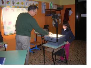 Fabio in classe